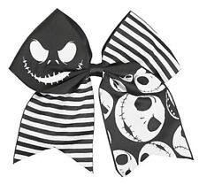 Disney The Nightmare Before Christmas Striped Cheer Cosplay Hair Bow Hair Clip