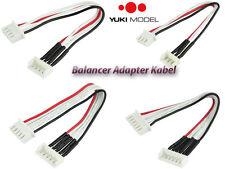 Amass Balancer Adapter Kabel 30cm Stecker Buchse 2S-6S YUKI MODEL EH XH