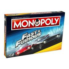 Fast & Furious MONOPOLY Board Game Gift