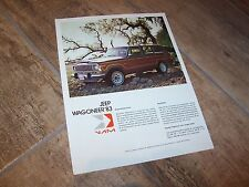 Prospectus  / Mexican Brochure JEEP Wagoneer 1983 //