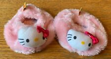 Build-A-Bear Light Pink Hello Kitty Slippers