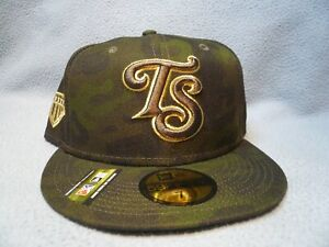 New Era 59fifty Tennessee Smokies Armed Forces Day Sz 7 3/8 NEW Fitted cap hat