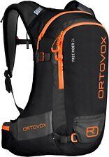 ORTOVOX Free Rider 24 Black Raven Freeride Sci e Ciclismo Zaino backbag