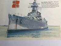WW 2 Ships: Admiral Graf Spee Armoured Ship Germany Alisma Corvette UK Surprise