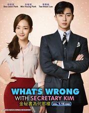 Korean Drama DVD What's Wrong With Secretary Kim (Vol.1-16 End) *English Sub*