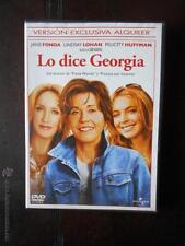 DVD LO DICE GEORGIA - EDICION DE ALQUILER - JANE FONDA - LINDSAY LOHAN