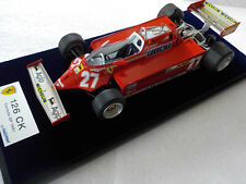1:18 Looksmart Ferrari 126Ck GP Canada 1981 G. Villeneuve RAR