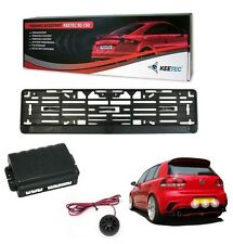 KIT RADAR DE RECUL SUR SUPPORT PLAQUE AUDI A1 A2 A3 A4 80 100 TT