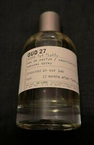 Le Labo Oud 27 Perfume 100ml !