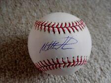 Baseball-mlb Autographs-original Matt Wieters Signed Official Mlb Ball Auto Orioles