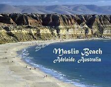 Australia - Adelaide - MASLIN BEACH - Travel Souvenir FLEXIBLE Fridge MAGNET