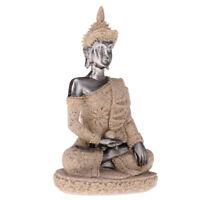 Sitzend Buddha Figur Skulptur Statue Buddhistische Fengshui Dekoration