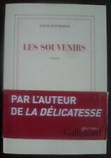 """LES SOUVENIRS""~DAVID FOENKINOS~NRF~GALLIMARD~~"