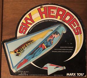 Sky Heroes Superman (1977) Marx Toys Unused and Sealed