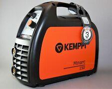 Kemppi Minarc 150 Elektroden Schweißgerät 140 A + Schweiß- u. Massekabel