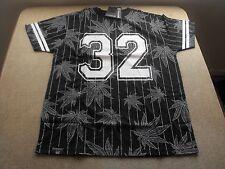 M Victorious black 32 marijuana, pinstripe, urban, chicano, Low Rider t-shirt.