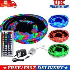 Nuevo Impermeable RGB SMD 3528 300 Tira de Luz LED con adaptador de 12 V control remoto