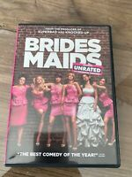 BRIDEMAIDS Unrated and Theatrical DVD Melissa McCarthy Kristen Wiig
