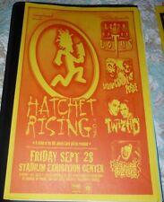 Insane Clown Posse Lotus Twiztid 2001 Seattle Concert Poster 11x17