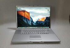 "Apple MacBook Pro 17"" 2.4GHz C2D 4GB 240GB SSD MA897LL/A A1229 Vintage - VG"