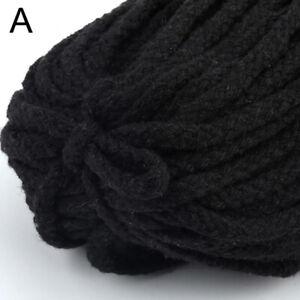 5Yards/lot Craft High Tenacity Thread 5mm Cotton Cord Decoration Handmade Home