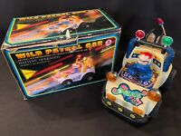 VTG 1984 Hsiang Shan Police Wild Patrol Race Car Buggy Toy Lights Pistons W/Box