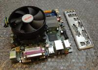 Pegatron IPX41-R3 REV: 1.01 Socket 775 Motherboard with Core 2 Duo E7500 and BP