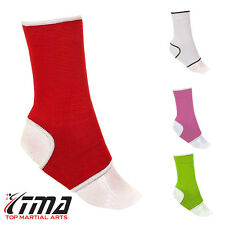 TMA Ankle Support Braces Pullover Pain Injury Relief Muay Thai PAIR