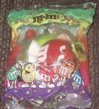 1997 M&M Burger King Toy - Red on Innertube Float