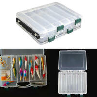 5 Styles Plastic Fishing Lure Tackle Box Hook Fishing Accessories Storage  FDF