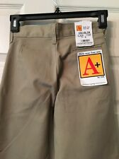 """A+ Daily Wear"""" Easy Care Dress Youth Size 8"""" Slim School Pants ! New/Tags❤"""