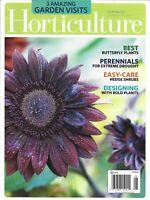 Horticulture Magazine Best Butterfly Plants Perennials Hedge Shrubs Gardens 2013