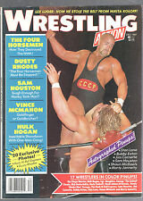 DECEMBER 1987 WRESTLING ACTION MAGAZINE-NIKITA KOLOFF COVER-AUTOGRAPHED PINUPS