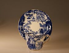 Royal Crown Derby Mikado Blue Cup and saucer, Made In England