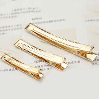 10PCS 4.5cm/6cm/8cm Metal Alligator Hair Clip Hairpins DIY Accessories Barrettes