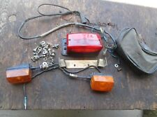 1985 or 1986 CAGIVA ELEFANT 650 TAILLIGHT TOOL POUCH REAR TURN SIGNAL