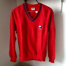 Vintage JOHN McENROE NlKE tennis checkered sweatshirt size M