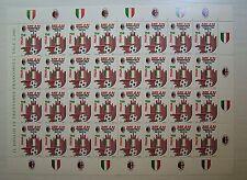 Italia  1992 Milan Campione D'Italia  750 lire  Foglio intero MNH**