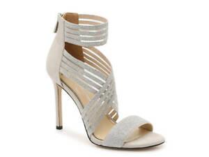 Jessica Simpsons Jivero Sandal - Metallic Heels Designer Womens Shoes New Size