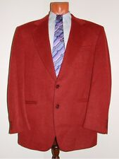 Example by Missoni Blazer Coral Luxury Color Wool & Cashmere Men's Size 52