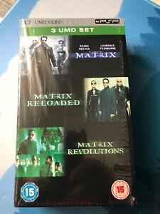 Pack Trilogía Matrix UMD video PSP