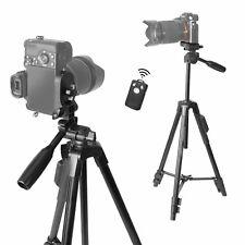 Pro Travel Camera Tripod 360° Adjustable Stand For Canon Nikon Bluetooth Control