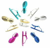 WOMENS LADIES JELLY BEACH SUMMER FLIP FLOPS TOE POST THONG SANDALS SHOES SIZE