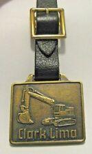 Lima Division Clark Equipment Co 2505 Excavator Pocket Watch Fob Construction