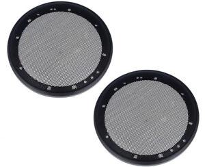 1 Paar LS Universal Abdeckung Lautsprechergitter für 165mm Lautsprecher 16,5cm
