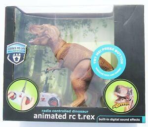 "Black Box Animated RC T-Rex Tyrannosaurus Remote Controlled 2017 10"" NEW IN BOX"