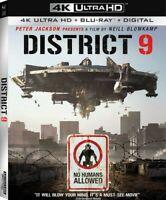 District 9 [New 4K UHD Blu-ray] With Blu-Ray, 4K Mastering, Digital Copy, Dubb