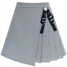 Girls Skirt Envelope Wrap Skirt Blue Back School Uniform Age 6-14 Years