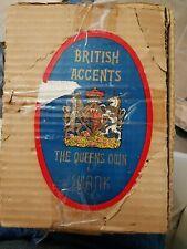 Rare British Accents By Swank Royal Highlander Scotch Set Gold Crown 7D