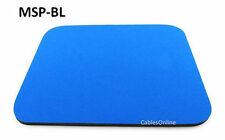 Blue Standard Cloth Desktop Computer Light Foam Mouse Pad - CablesOnline MSP-BL